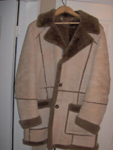 Genuine Men's Sheepskin Winter Coat