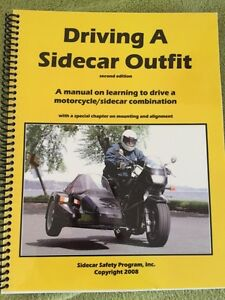 Driving a sidecar outfit book