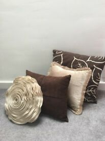 Selection of cushions
