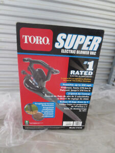 NEW TORO ELECTRIC LEAF BLOWER AND VACUUM