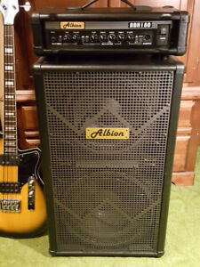 Albion 180W Bass Head (ABH180H) and Cabinet (BLS1215)