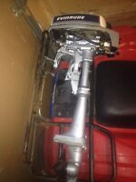1980's Evinrude 2hp outboard engine $500