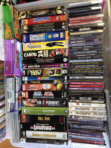 Assorted PC Games / Software $1 each