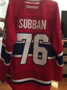PK Subban Jersey, Like New