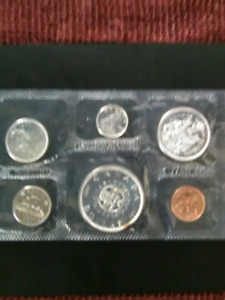 1964 Royal Canadian Mint silver proof set