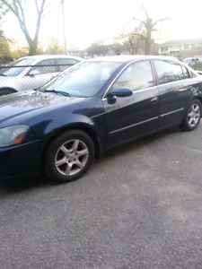 2005 Nissan altima 2. 5 sl          AS IS