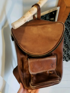 Vintage Frye Leather Backpack OBO