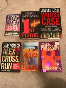 James Patterson books  Prince George British Columbia image 1