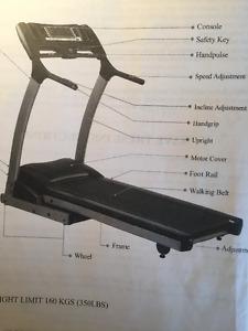 BodyWorks Treadmill - excellent condition