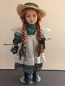 Genuine Porcelain Doll - Authentic Anne of Green Gables from PEI