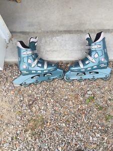 Rollerblades, in-line skates (Wm Sz 8)