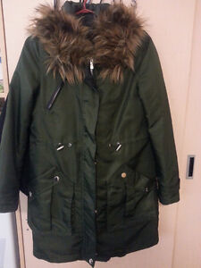 Dynamite Winter Coat (Olive Green)