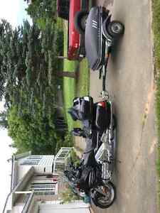 Looking to trade 2007 goldwing and trailer for a motor home