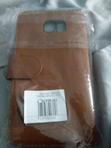 Samsung note 5 Leather wallet case $10