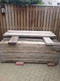 Secondhand scaffolding boards for sale