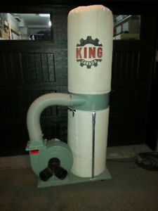KING DUST COLLECTOR (240v)