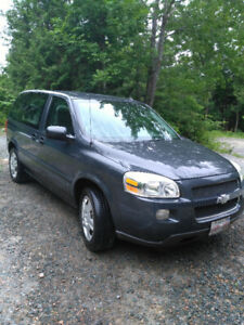 2008 Chev Uplander LS van 162,000 New Tune Up $3900