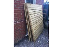 Fence, posts & gravel boards