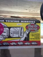 Custom towing mirrors for 1997-1998 ford F150 or Ford 250