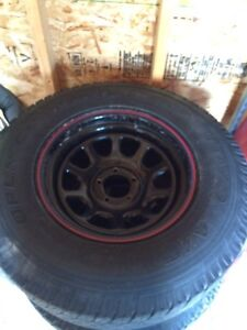 TOYO OPEN COUNTRY WITH RIMS NEED GONE ASAP!!