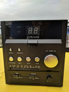 Craig CM415 CD Shelf System with AM/FM Stereo Radio