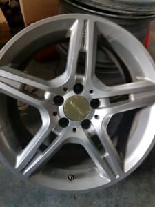 """Rims AMG 17"""" pour pneu d'hiver"""