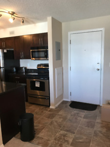 2 Bedroom + 2 Bathroom with Den condo for Rent Available Oct 1st