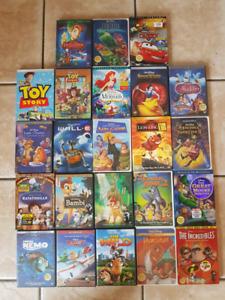 Walt Disney DVDs