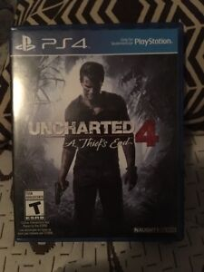 Uncharted 4 came with PS4 traid for watch dogs 2 Kitchener / Waterloo Kitchener Area image 1