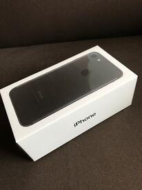 iPhone 7 128gb Matt Black Unlocked Sealed in box