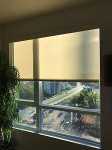 Toiles solaires pour fenêtres et porte patio