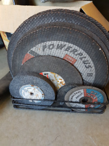 Lot of  Cutting and Grinding Wheels - Some Used but Most New