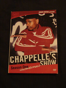 CHAPPELLE'S SHOW: SEASON ONE -UNCENSORED! 2 DVD set