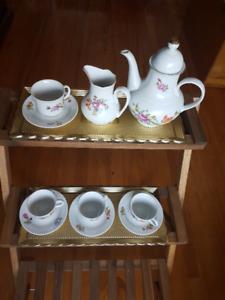 Ensemble Menau pour thé ou café