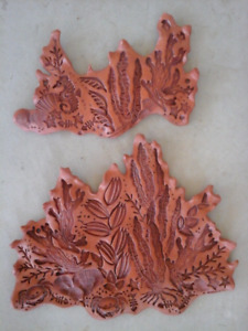 Terracotta Wall Plaques by BC Artist