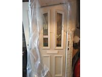 BRAND NEW UPVC Front Door AND frame