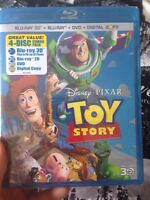 New Toy Story DVD and Blue-Ray