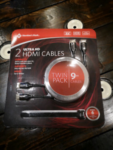 HDMI Cables (Brand New)