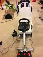 Playseat + Logitech G27 Steering Wheel and Foot Controls