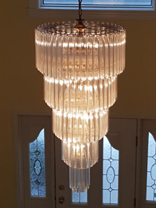 Tiered Waterfall Chandelier