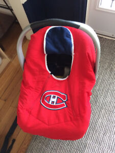 Montreal Canadiens infant car seat cover