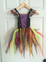 Deluxe Funky Witch Halloween Costume - Girl's size 3T/ 4T