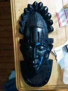 Blackwood African Mask