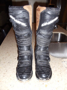 ONeal Black MotoCross Boots