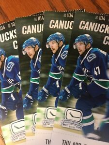 Sedin's Final Home Game - Canucks vs. Coyotes Thursday, April 5