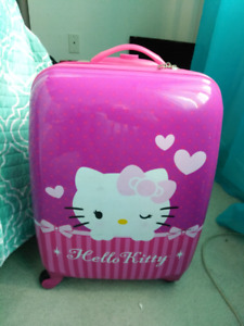 Childs size suitcase