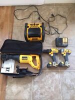 DeWalt tools for sale at a great price!