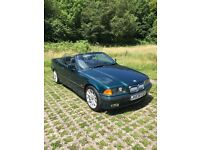 BMW 323i Convertible (Classic) low miles bargain Barn Find