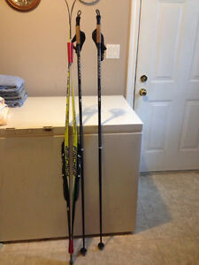 Nordic Skiis, Boots, and Poles