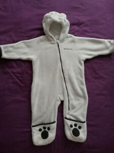 9-18m Columbia baby Tiny Bear Bunting snowsuit winter jacket